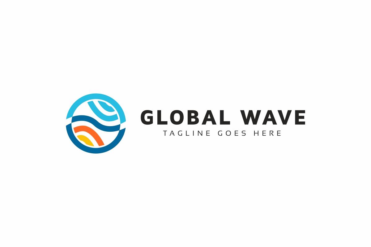 Global Wave Logo example image 2