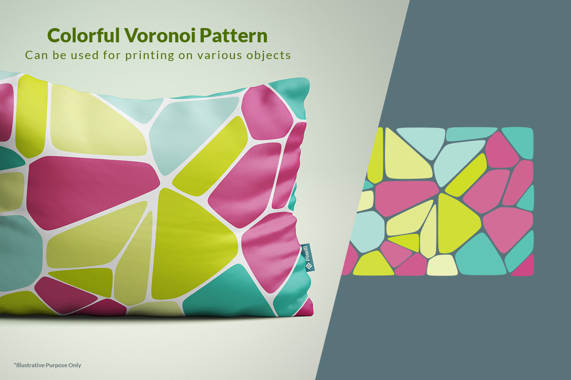 Voronoi Diagram Vector Backgrounds example image 8