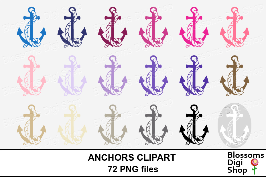 Anchor Clipart example image 5