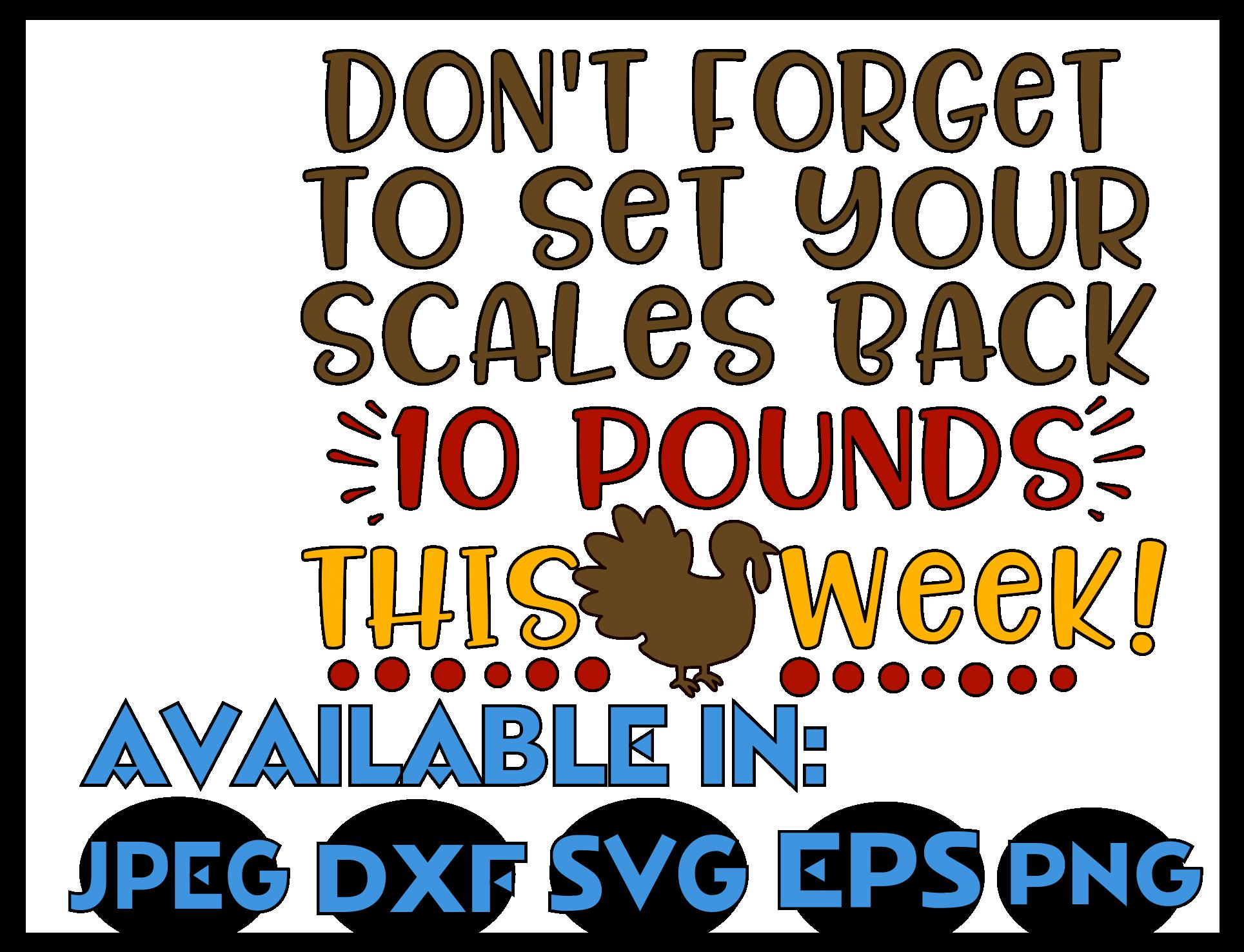 Cooking svg DXF JPEG Silhouette Cameo Cricut Thanksgiving example image 3