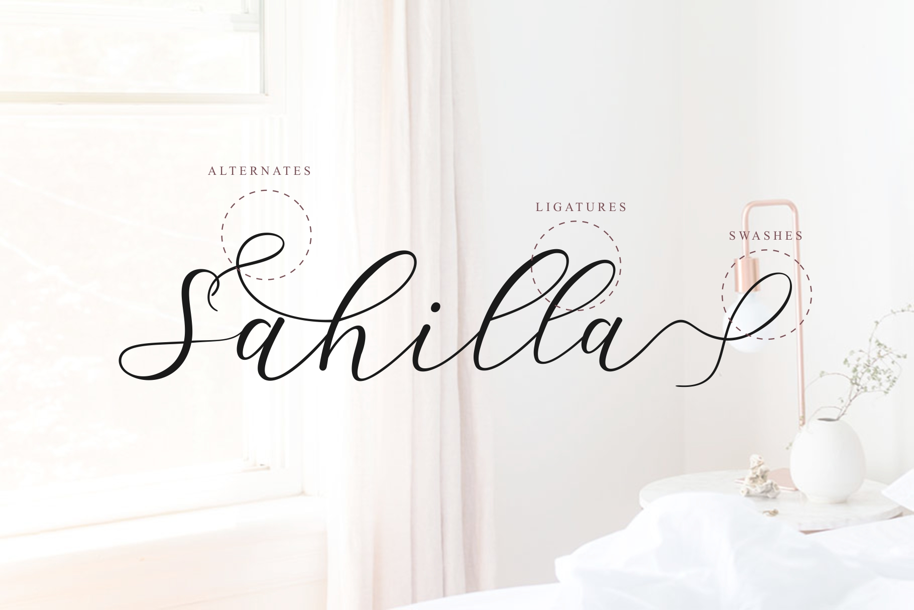 Sathyn Lovely Script Font example image 5