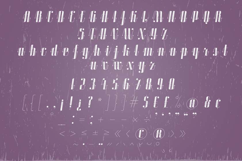 ROADSTER typeface example image 21