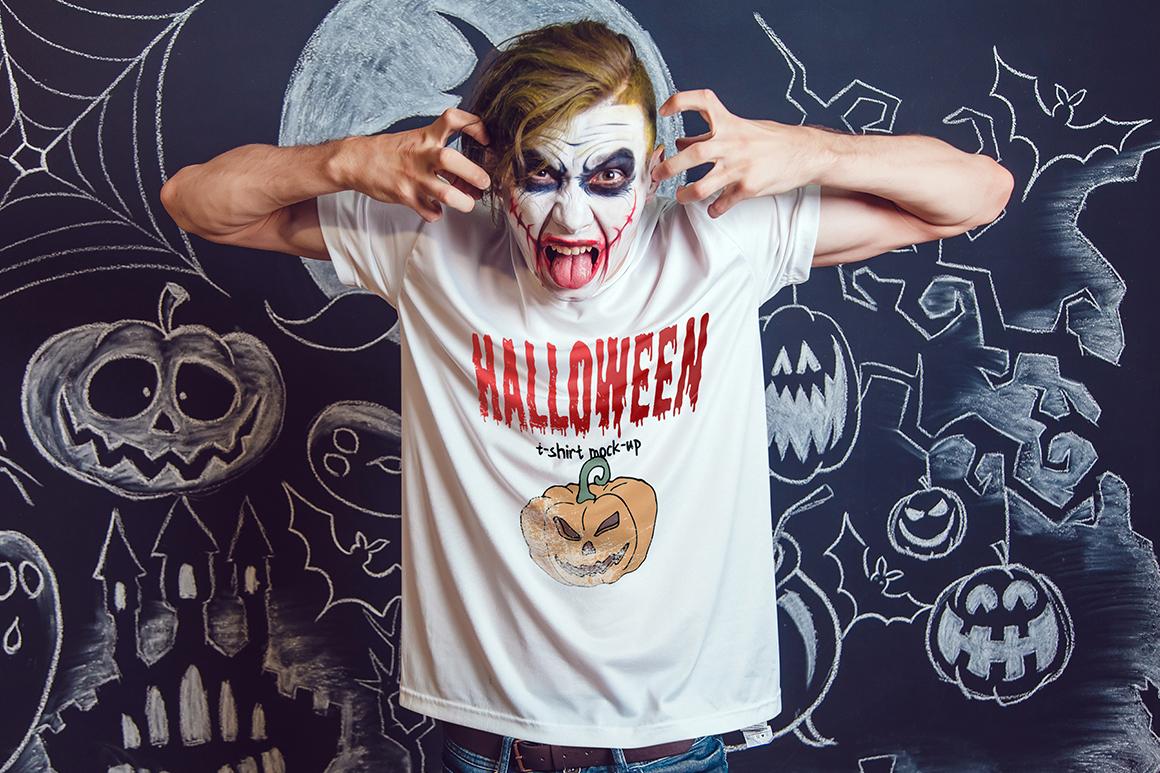 Halloween T-Shirt Mock-Up example image 15