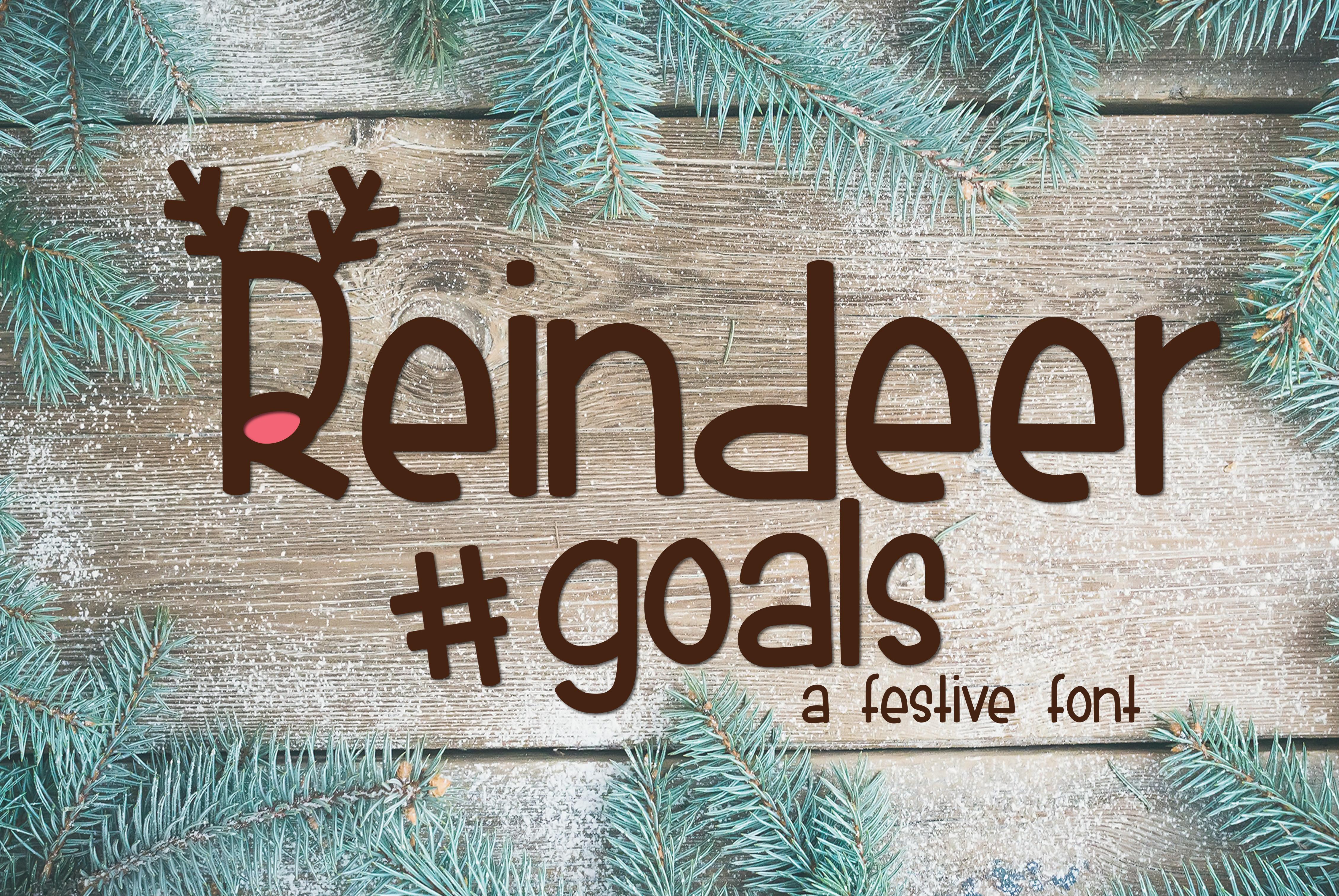 Reindeer Goals example image 1