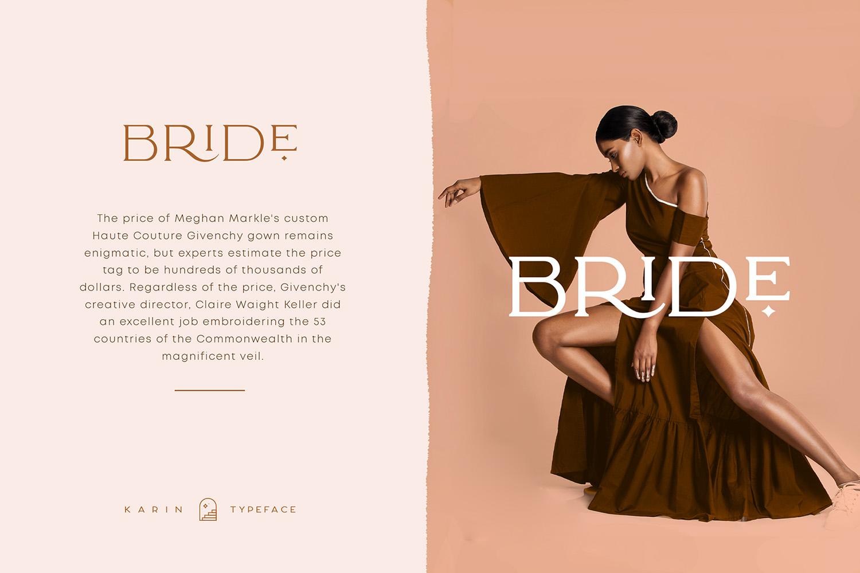Elegant Karin - Fashion Stylish Typeface example image 5