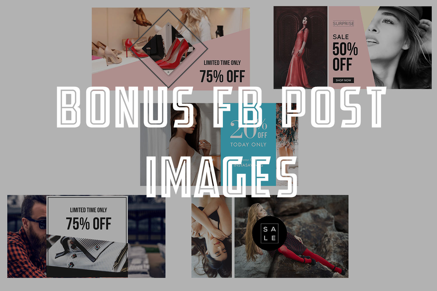 10 Fashion Fb sale Cover example image 2