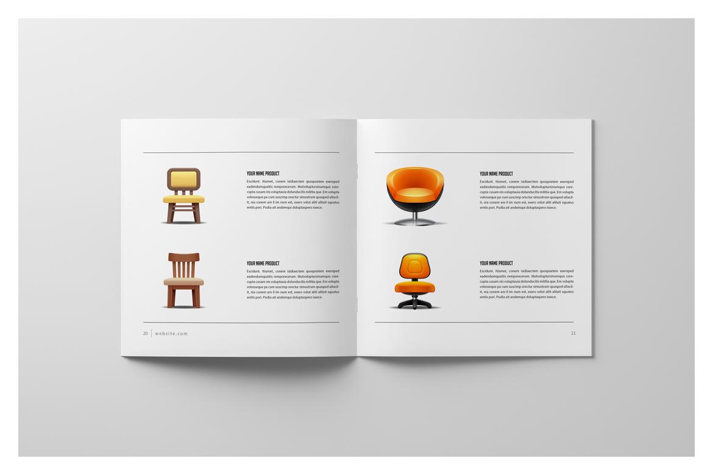 Square Brochure Catalog example image 14