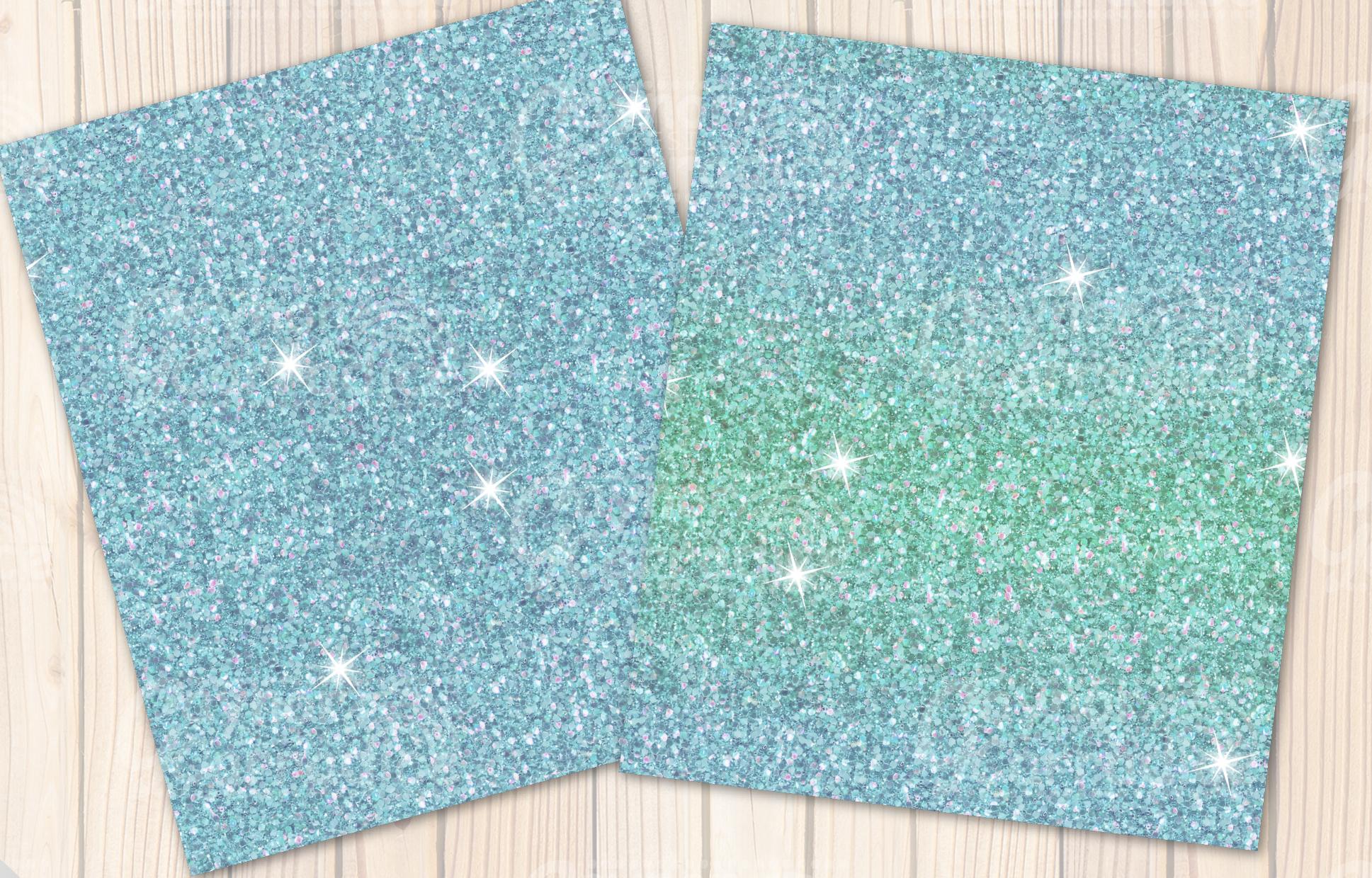 Christmas Unicorn Glitter seamless textures example image 5