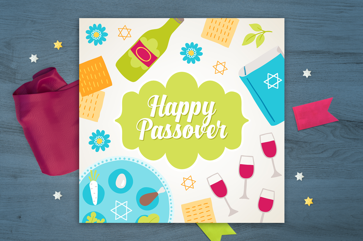 8 Passover Greeting Cards example image 4