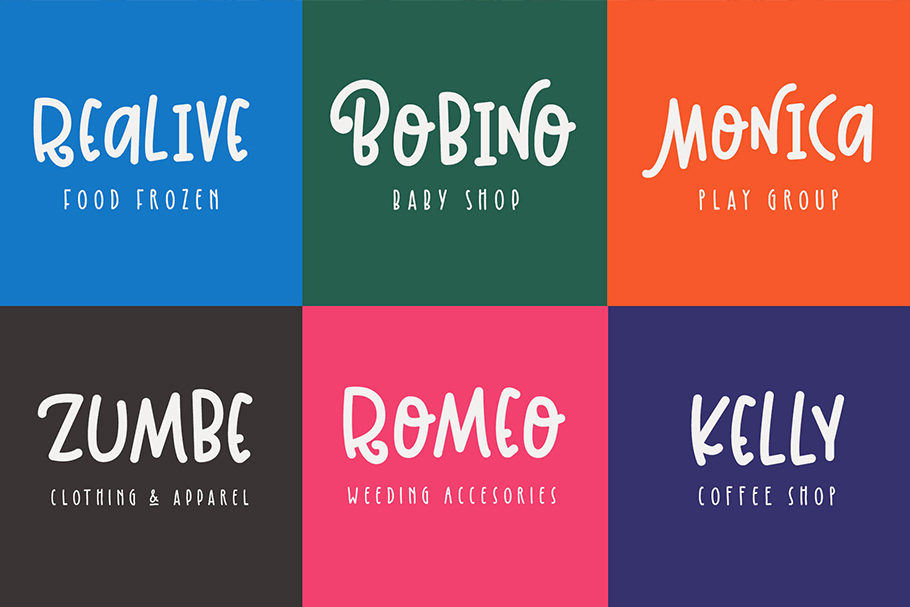 Kinglet - Cute Font Duo With Extras  example image 7