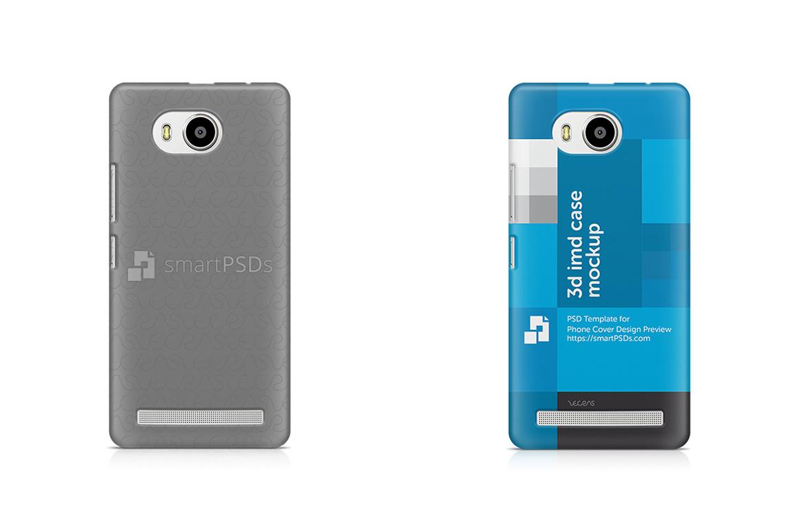 Lenovo A7700 3d IMD Mobile Case Design mockup 2016 example image 1