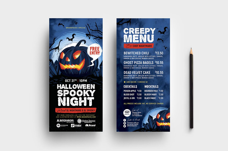 Halloween Flyer Templates example image 5