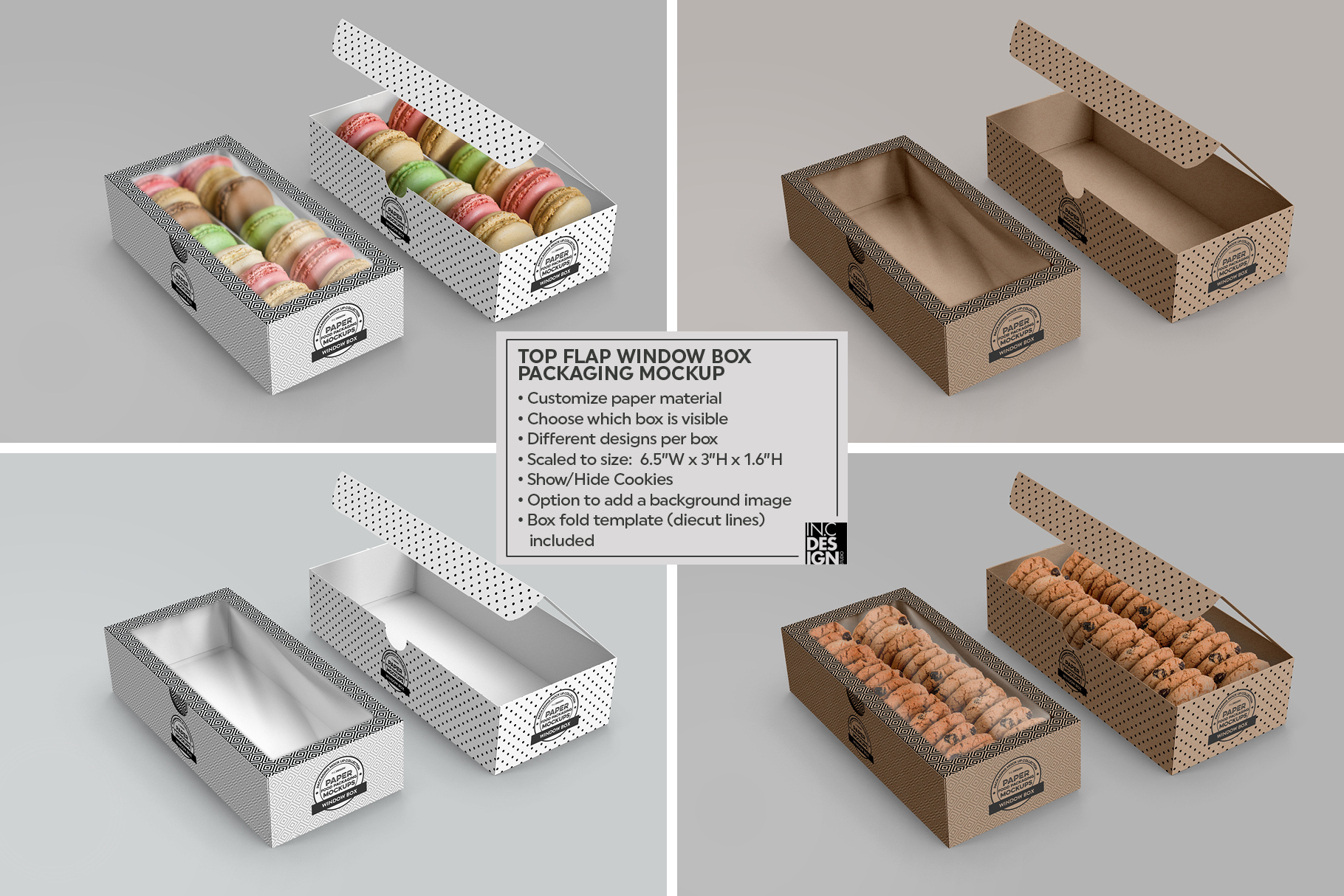 VOL.2 Food Box Packaging MockUps example image 18