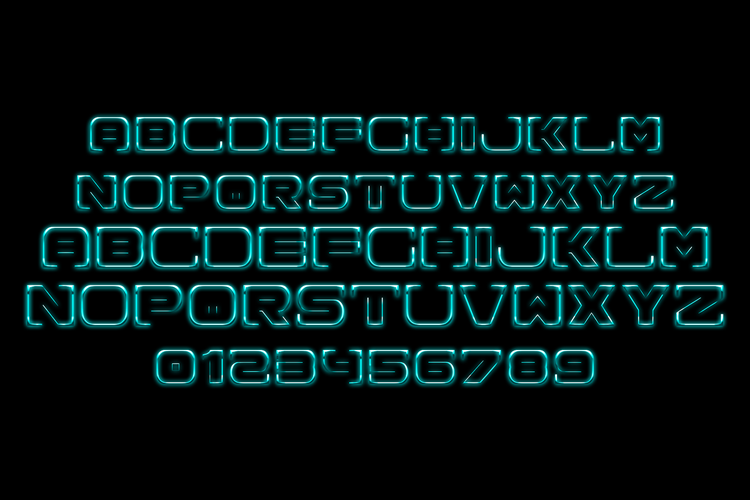 Spac3 - Neon example image 2