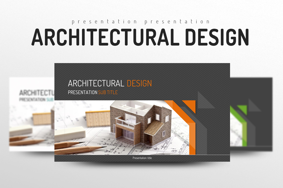 Architectural PowerPoint example image 1