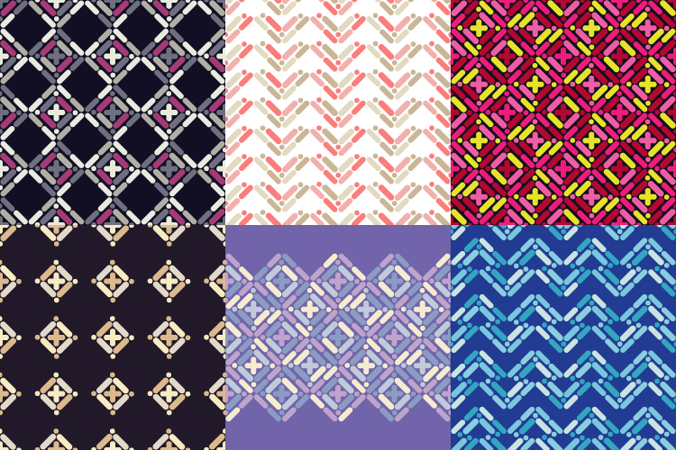 6 Ethnic boho seamless pattern.  example image 1