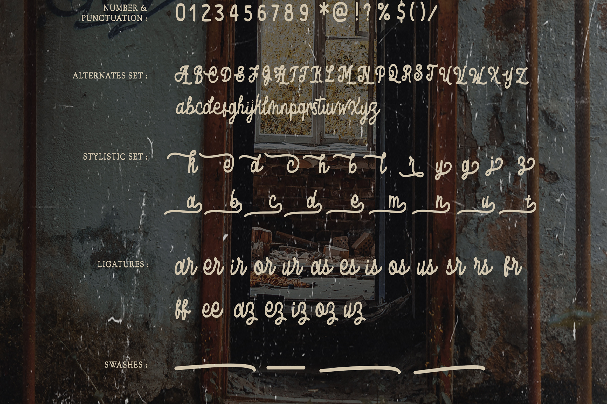 Baratayuda - Authentic Handwriting Font example image 9