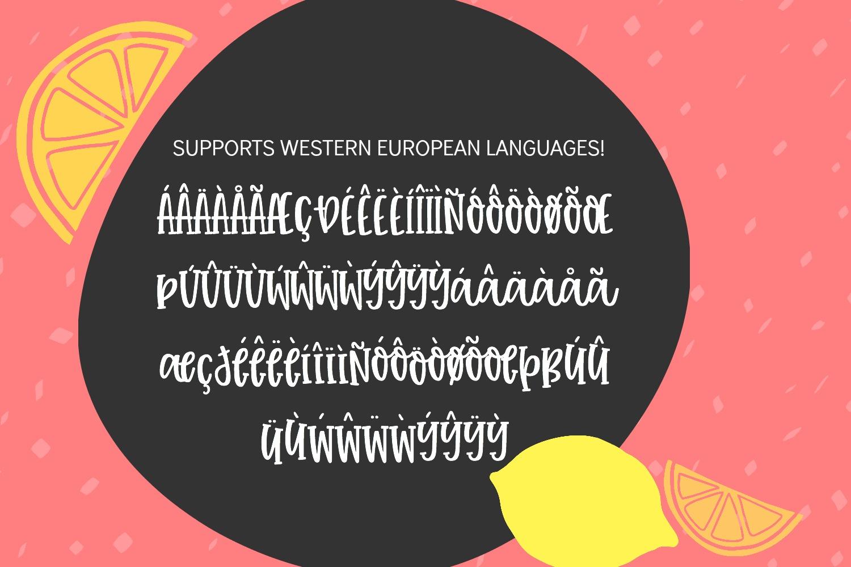 Tuti Fruiti Font Bundle- Handwritten Font 6 Pack example image 4