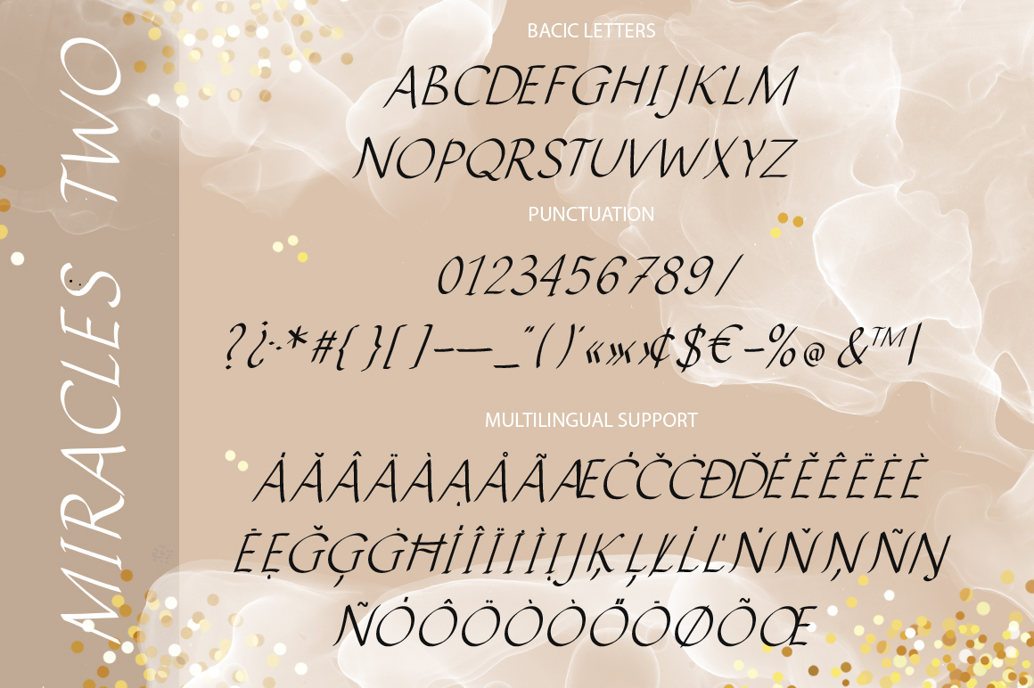 Miracles Duo Font. example image 9