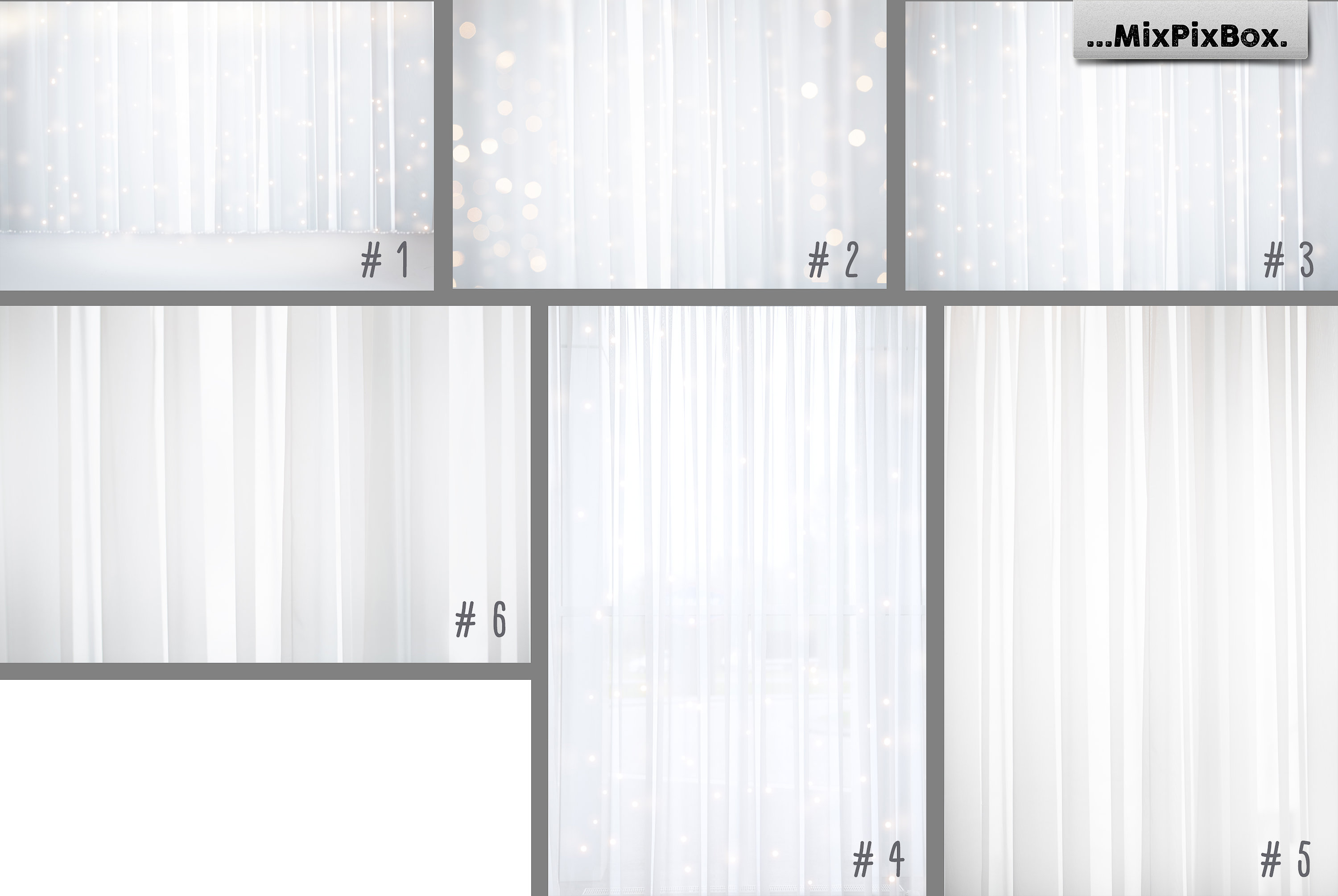 White Sheer Curtain Backgrounds example image 4