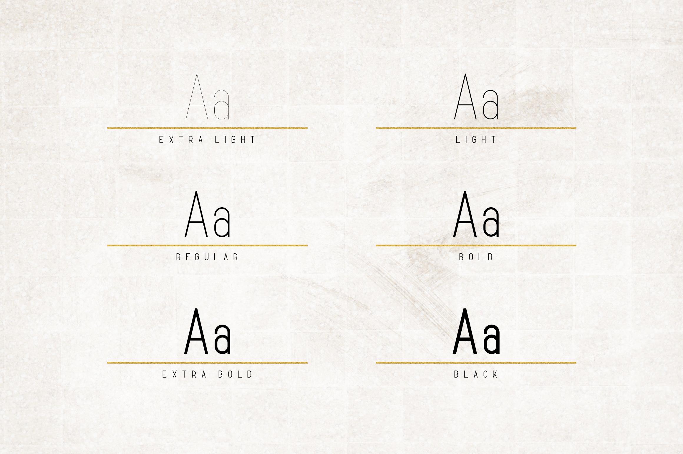Opinio - Sans serif family example image 2