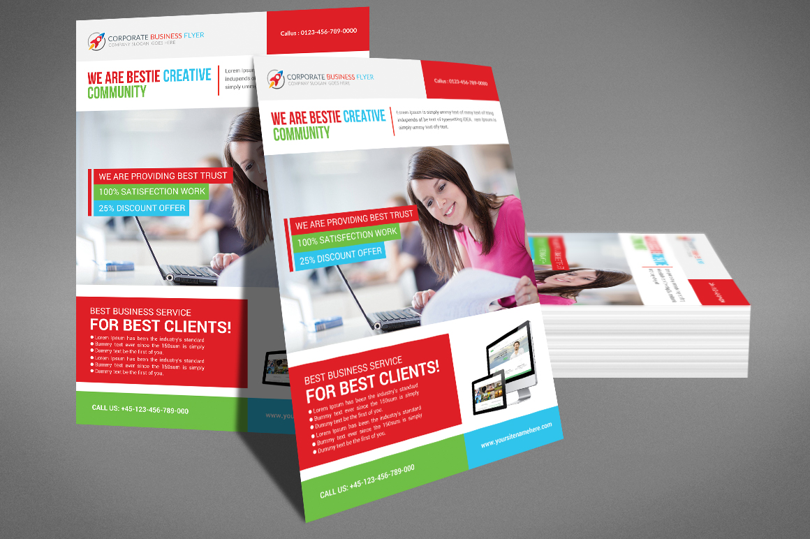 Professional Business Flyer example image 3