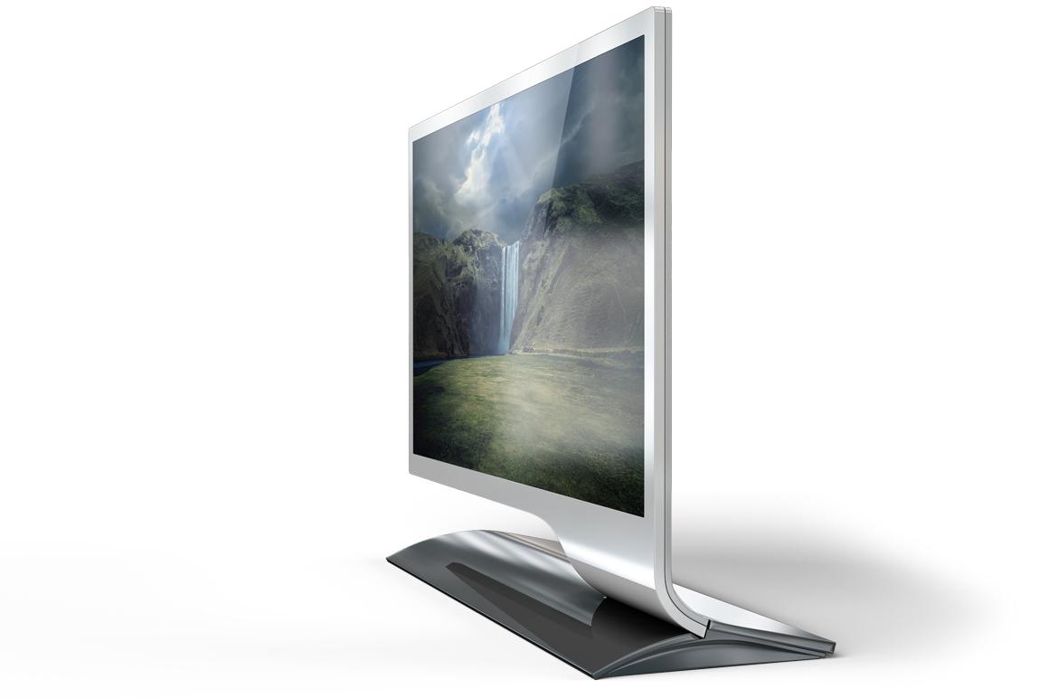 LED Monitor Mockup example image 7