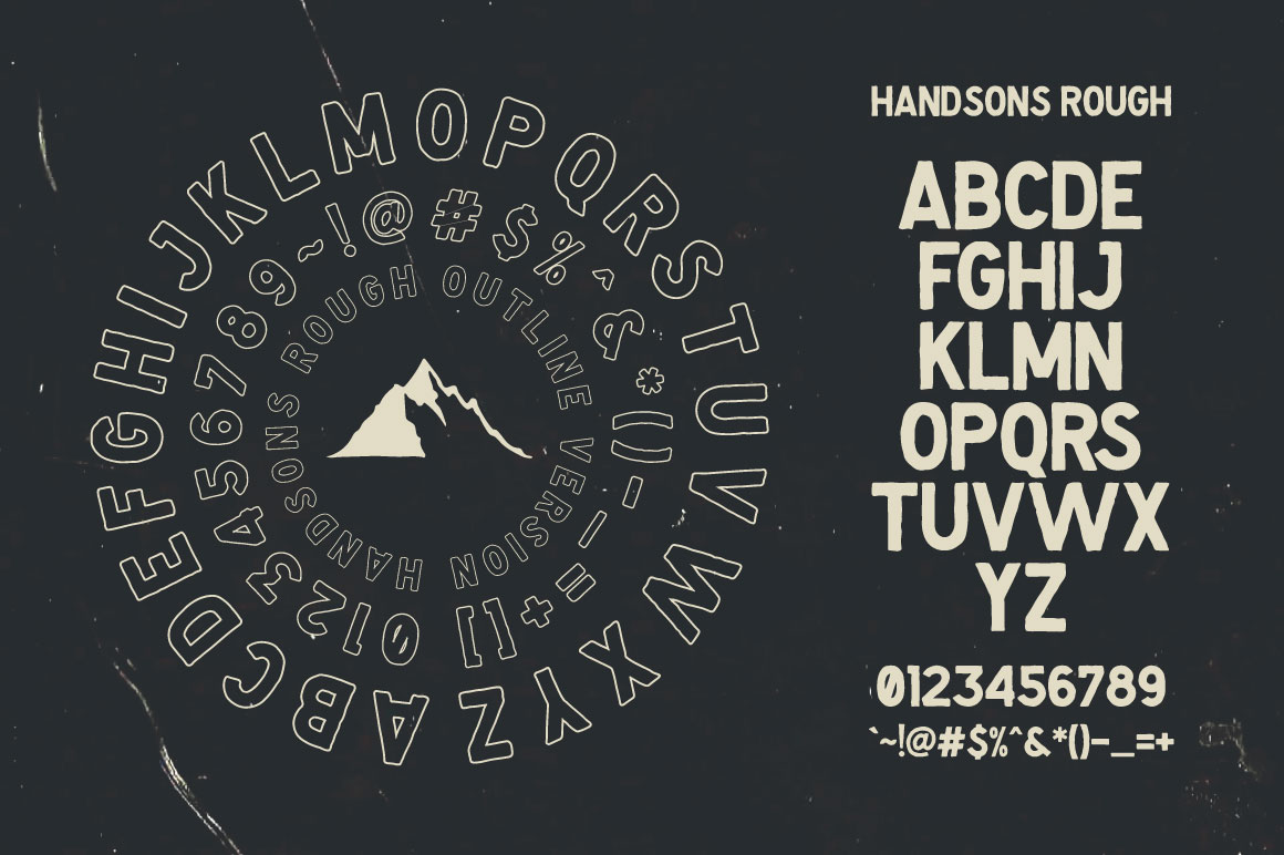 Handsons Typeface example image 7