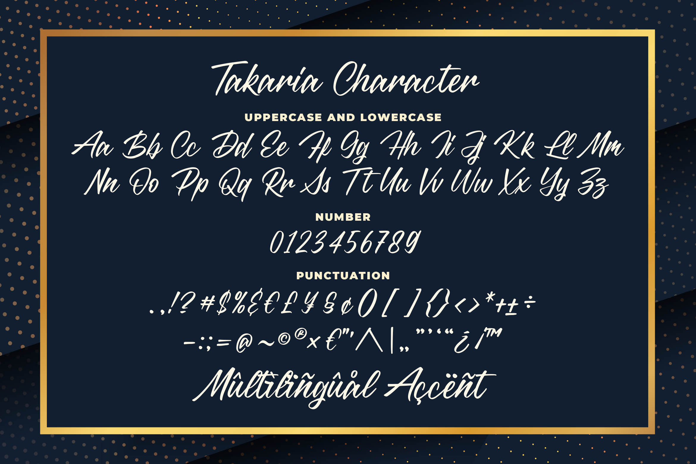 Takaria - a Stylish Sciprt Font example image 5