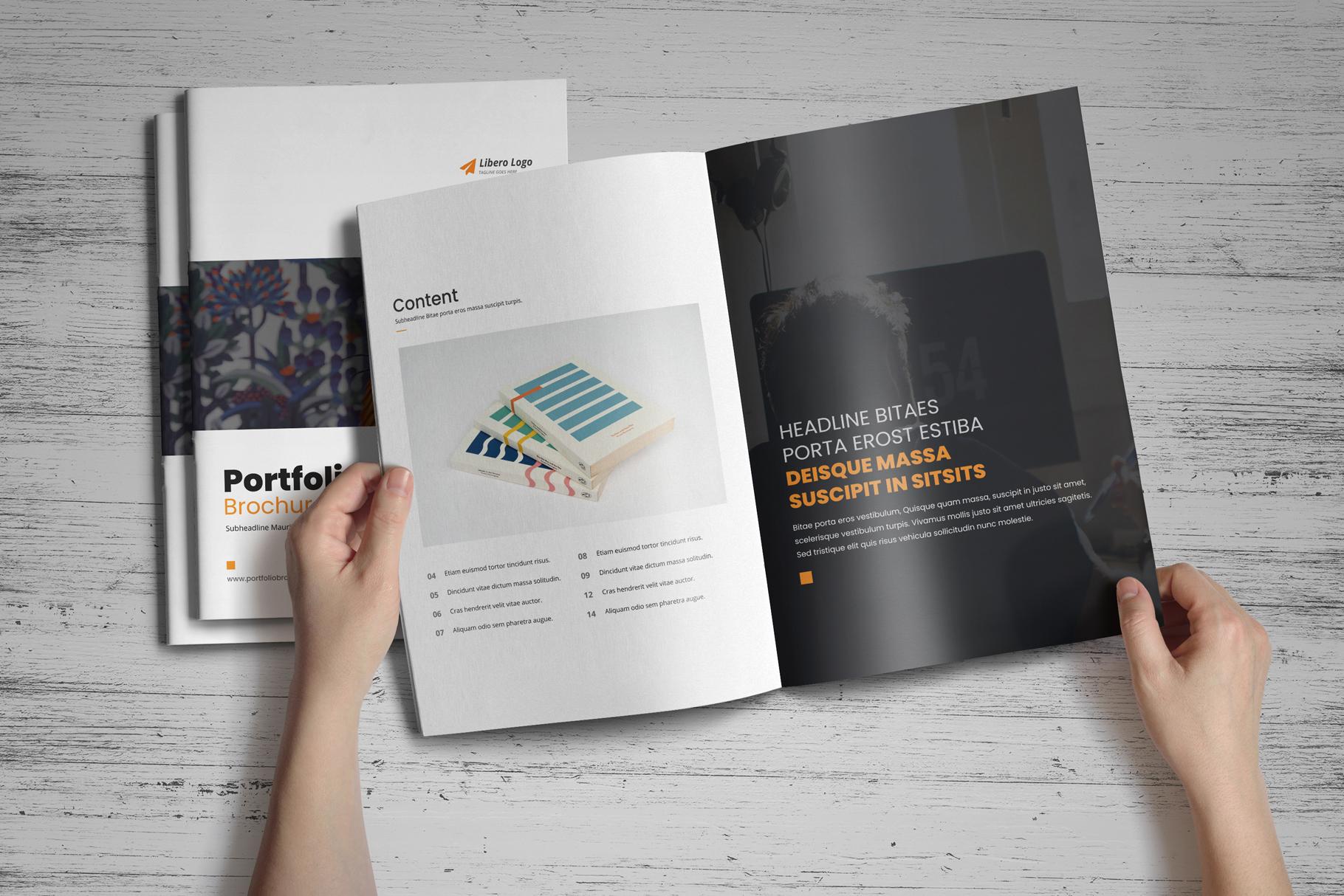 Portfolio Brochure Design v4 example image 2