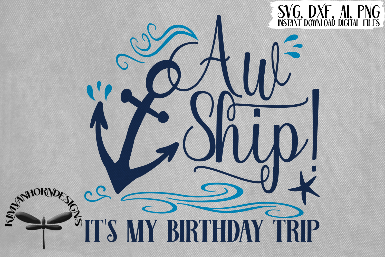 Aw Ship! It's My Birthday Trip example image 1