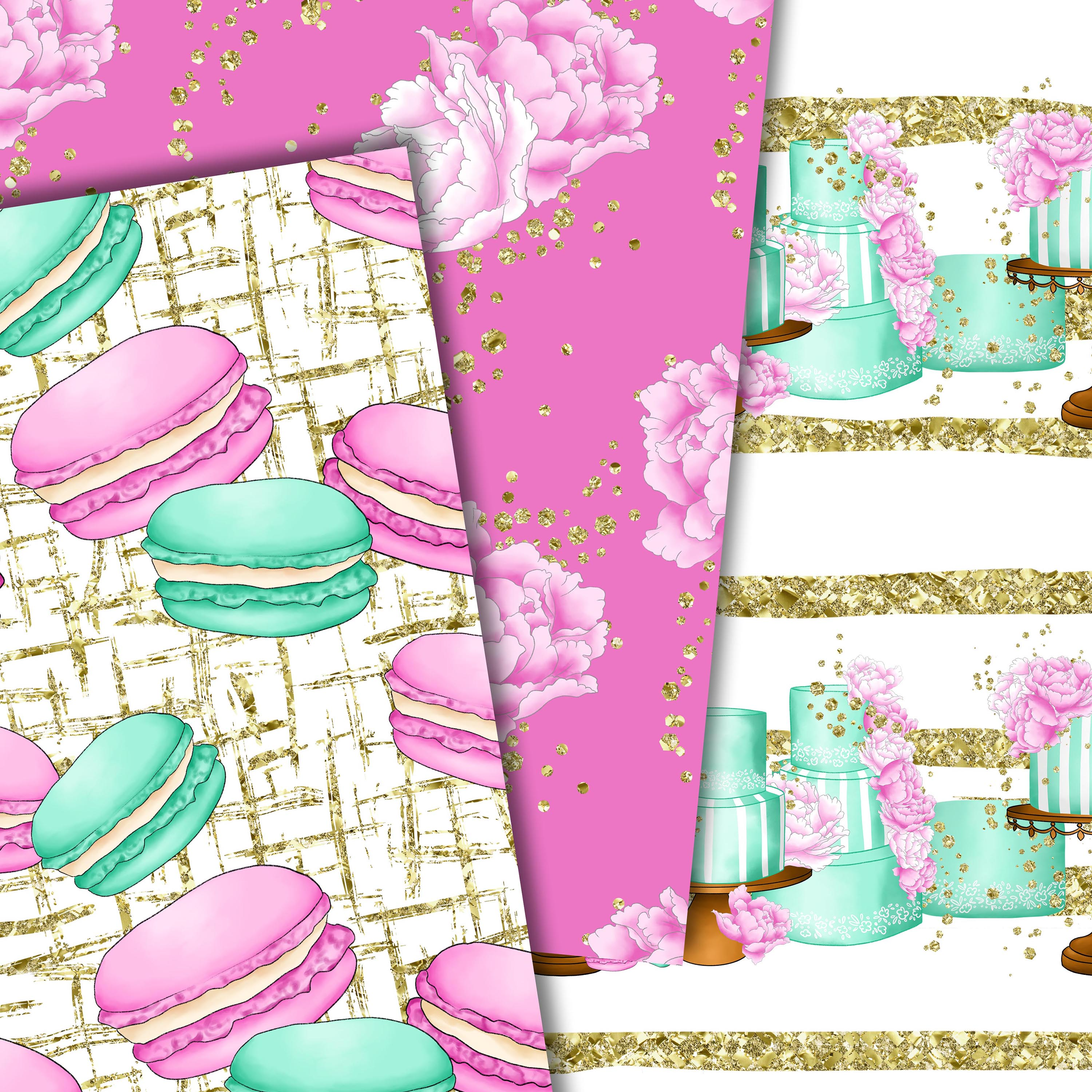 Sweet cakes patterns example image 5