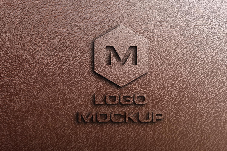 8 logo mockups, 3d wall mock up example image 5
