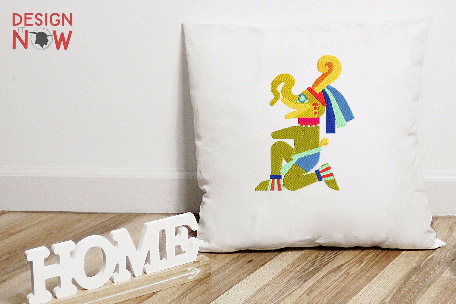 Aztec Culture Embroidery, Mayan Embroidery, God example image 4