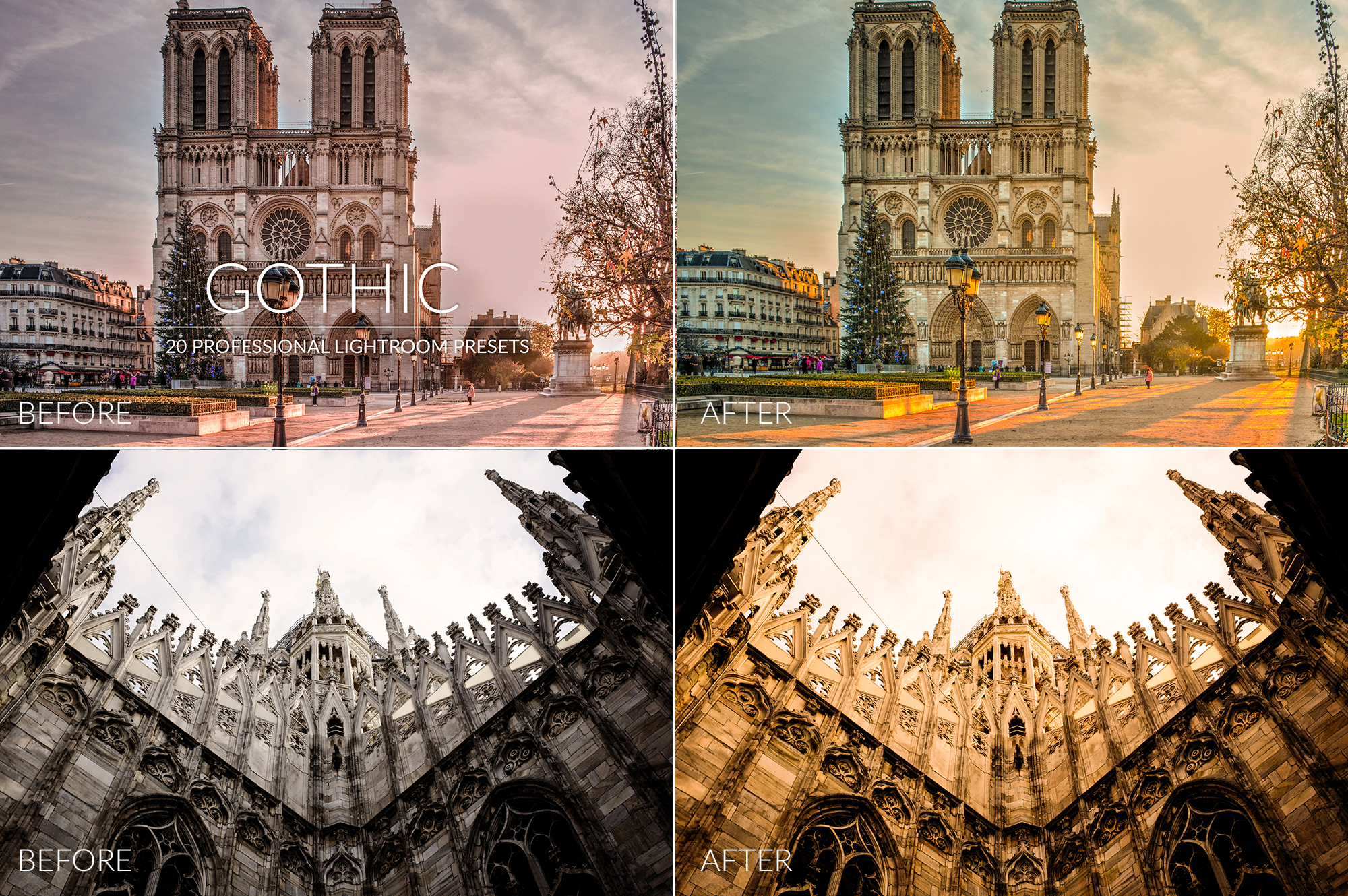 Gothic Lr Presets example image 10