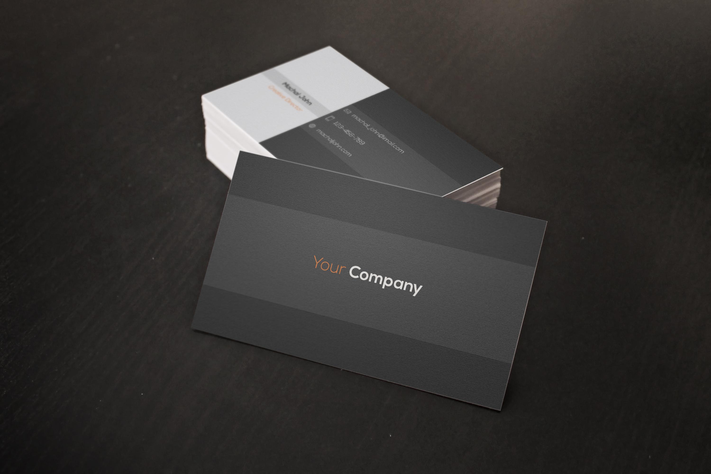 Minimal Buisness Card example image 1