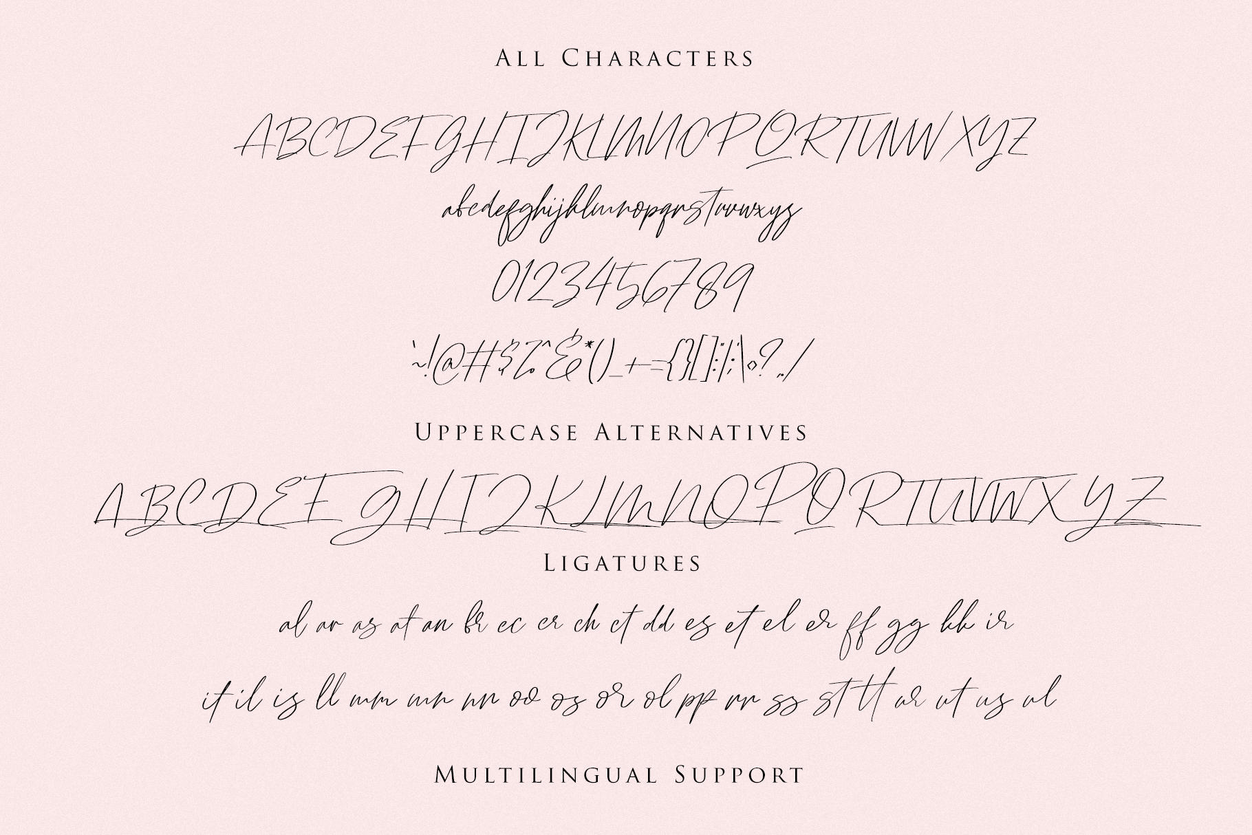 Ramstay - Signature Font example image 7