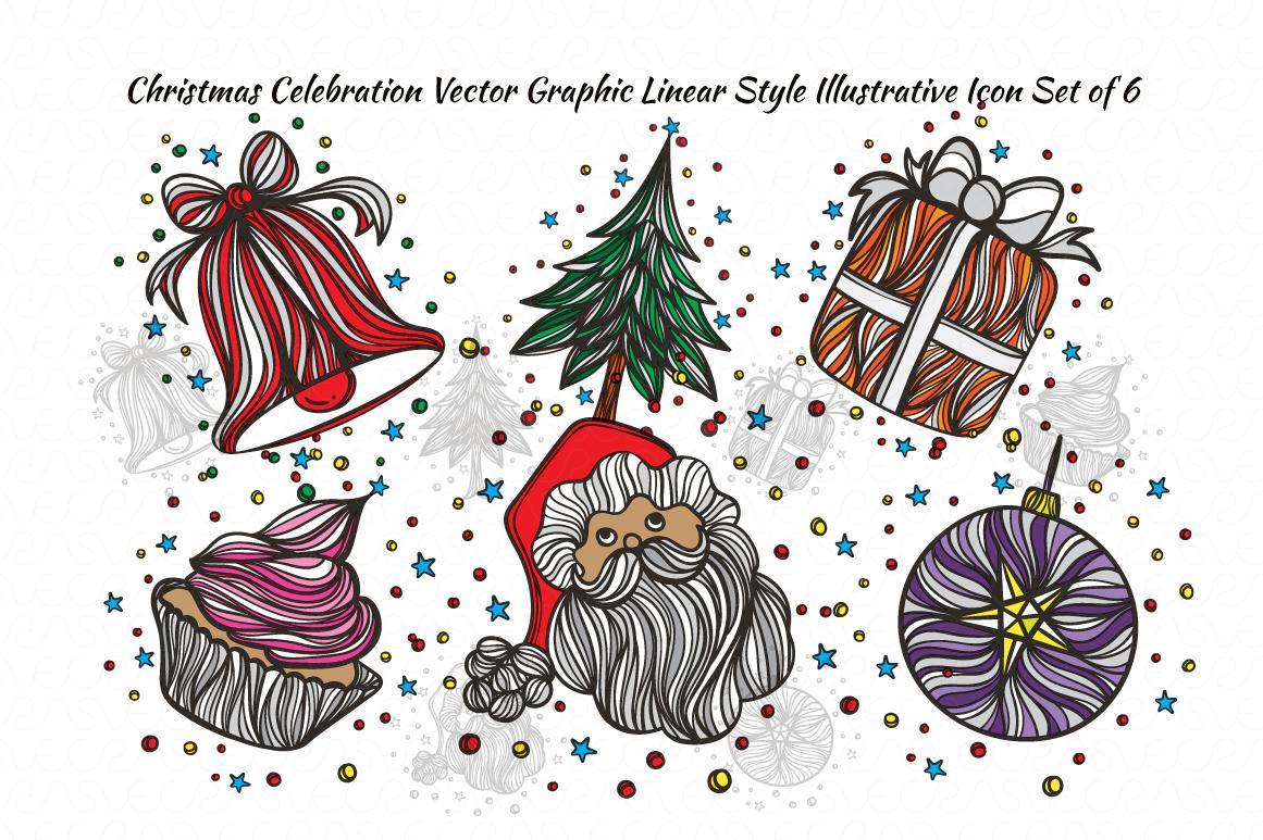 Christmas & New Year Bundle of Ornamental Mockups & Graphics example image 8