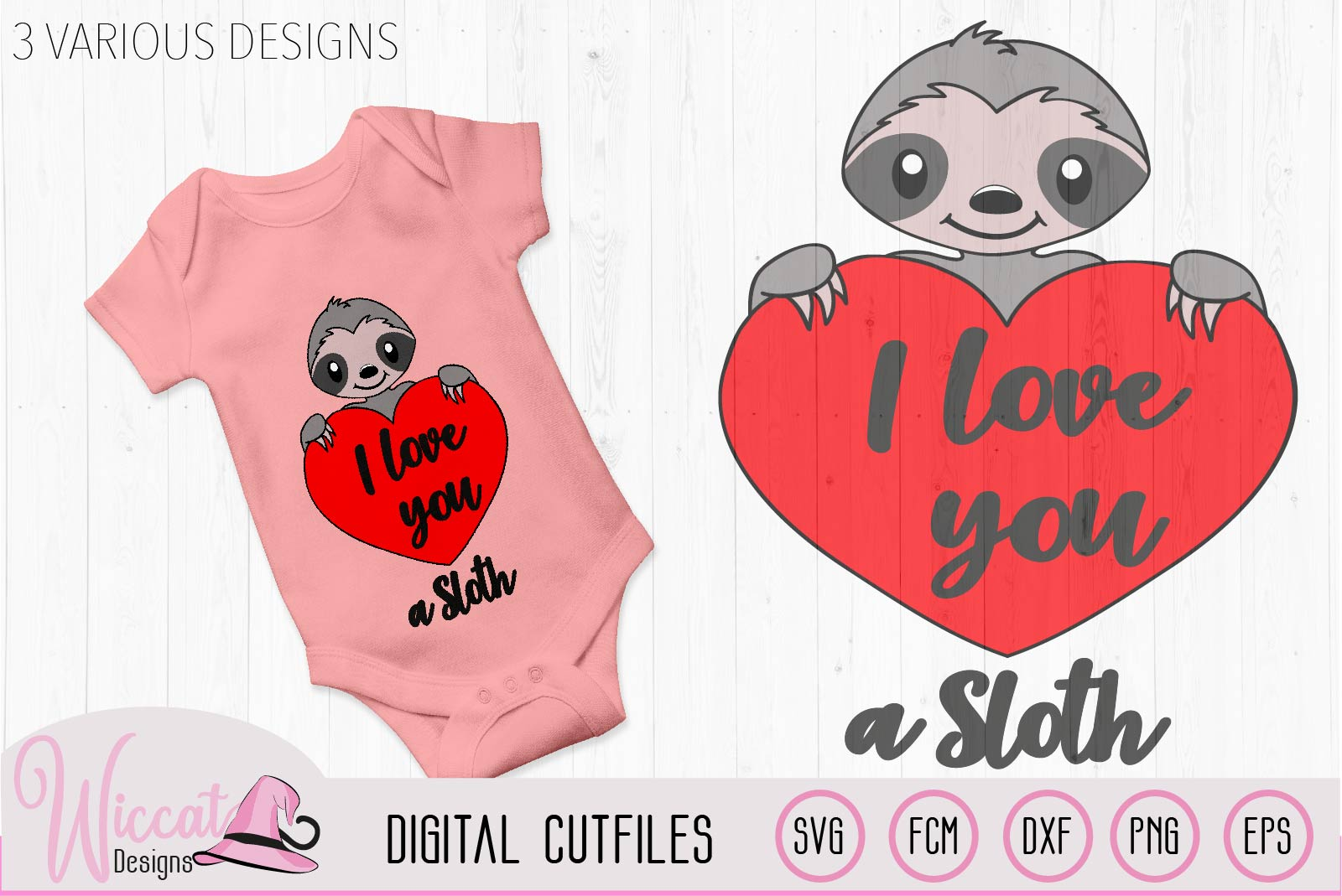 Valentine sloth pun svg, I love you a sloth quote example image 3