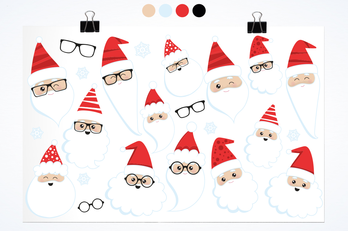 Santa Claus graphic and illustrations example image 2