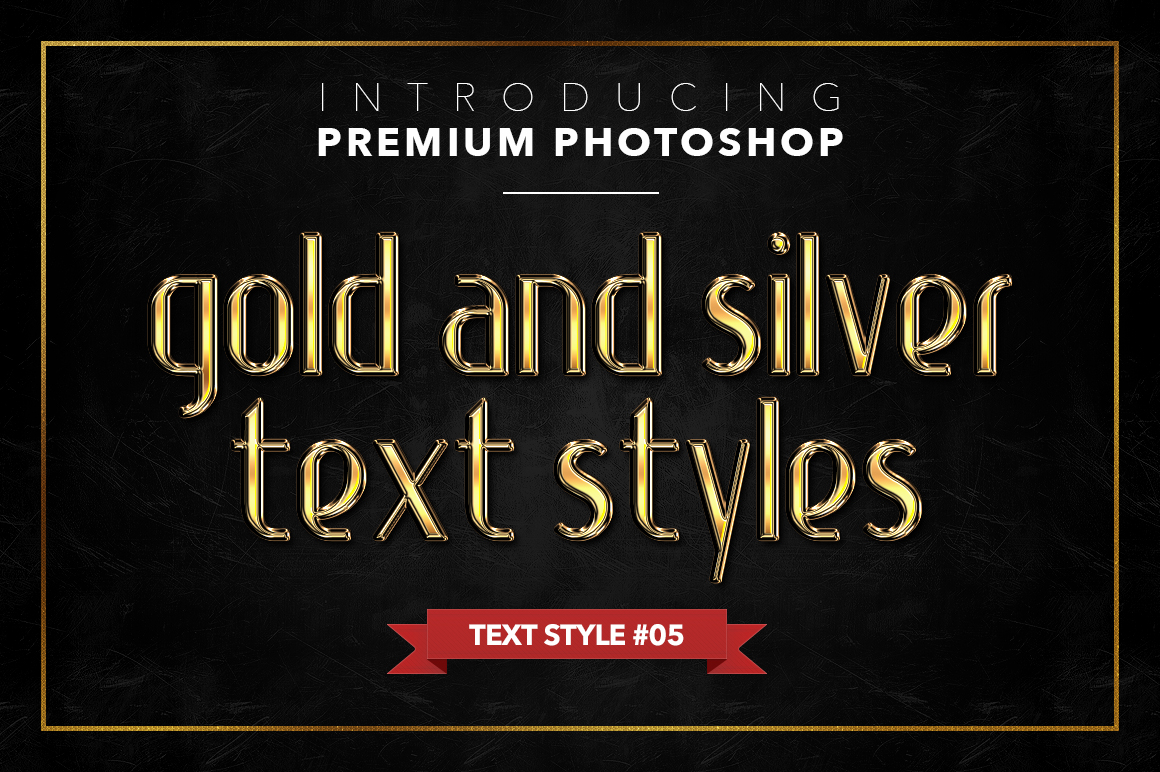 Gold & Silver #1 - 20 Text Styles example image 19