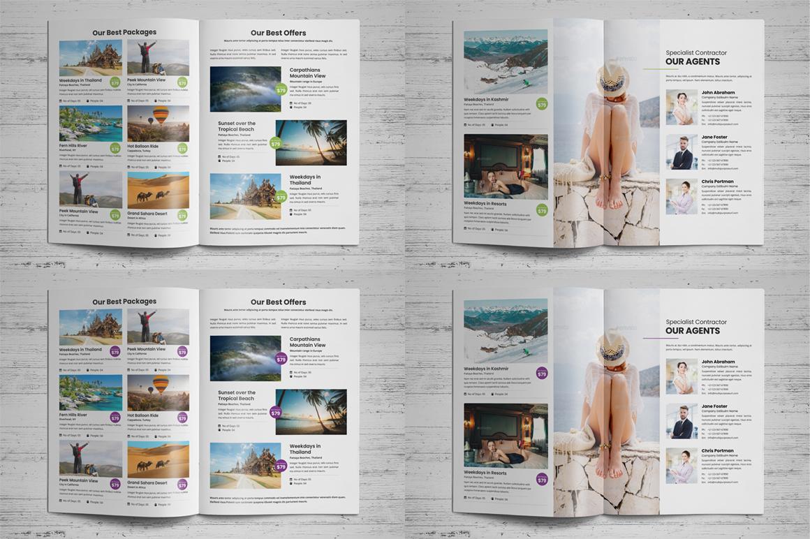 Holiday Travel Brochure Design v5 example image 11