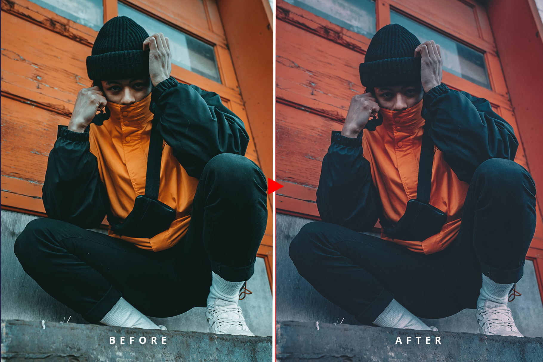 Oneday Hypebeast Lightroom preset example image 11