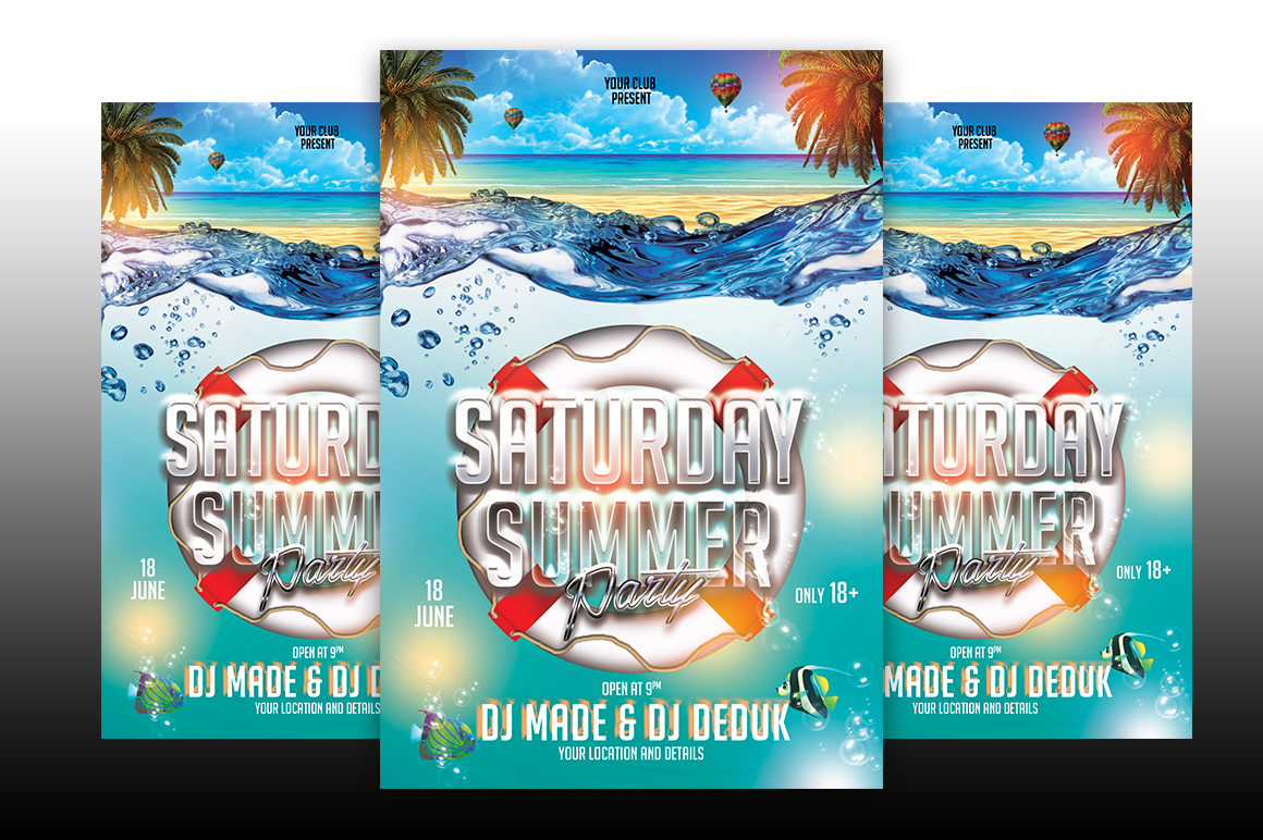 Saturday Summer Party example image 1