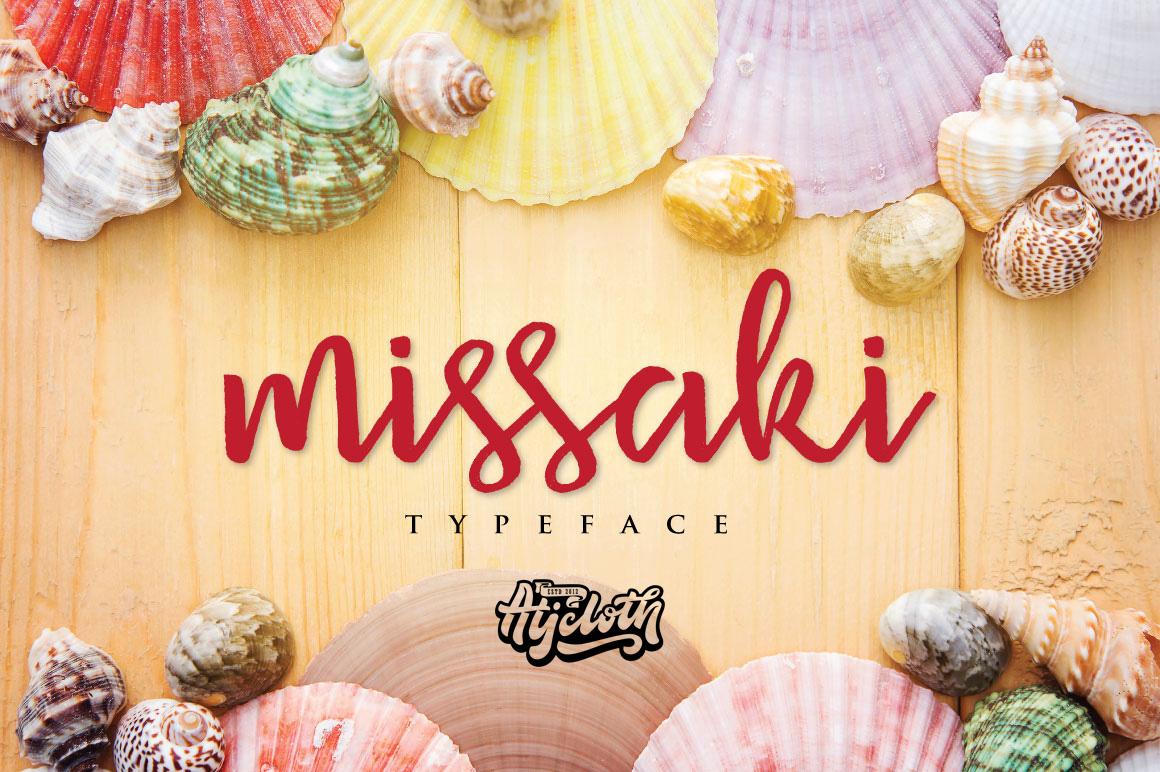 Missaki Typeface example image 1