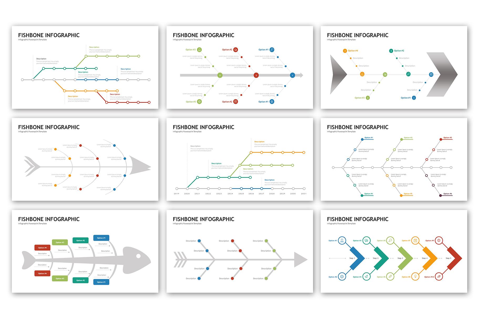 Fishbone Presentation - Infographic Template example image 4