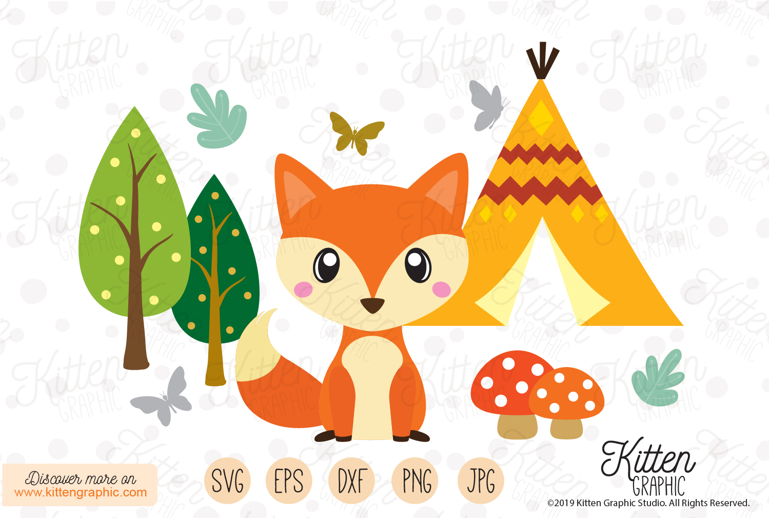 Fox Set - Graphics example image 1