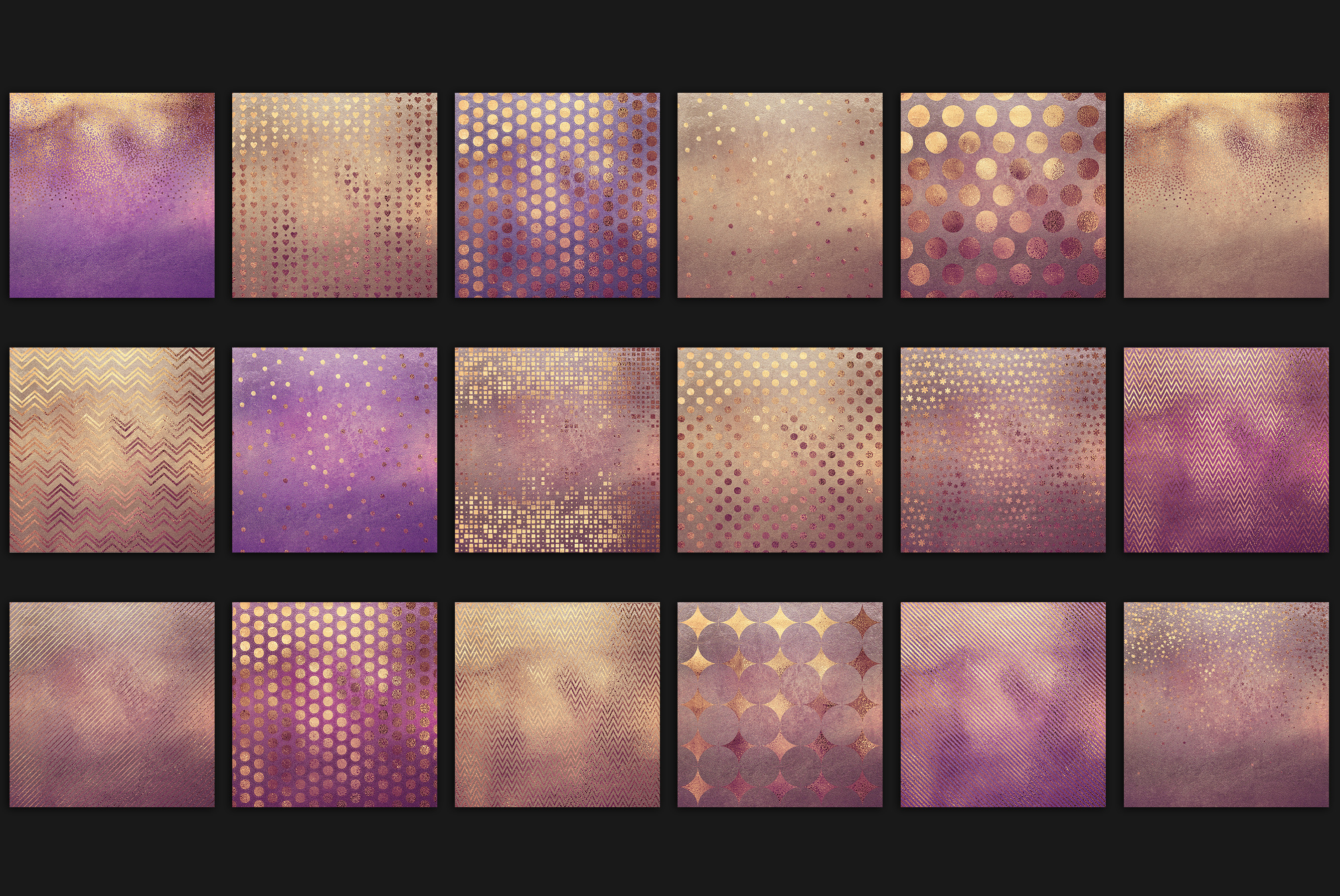 Rose Gold Pattern & Textures example image 3