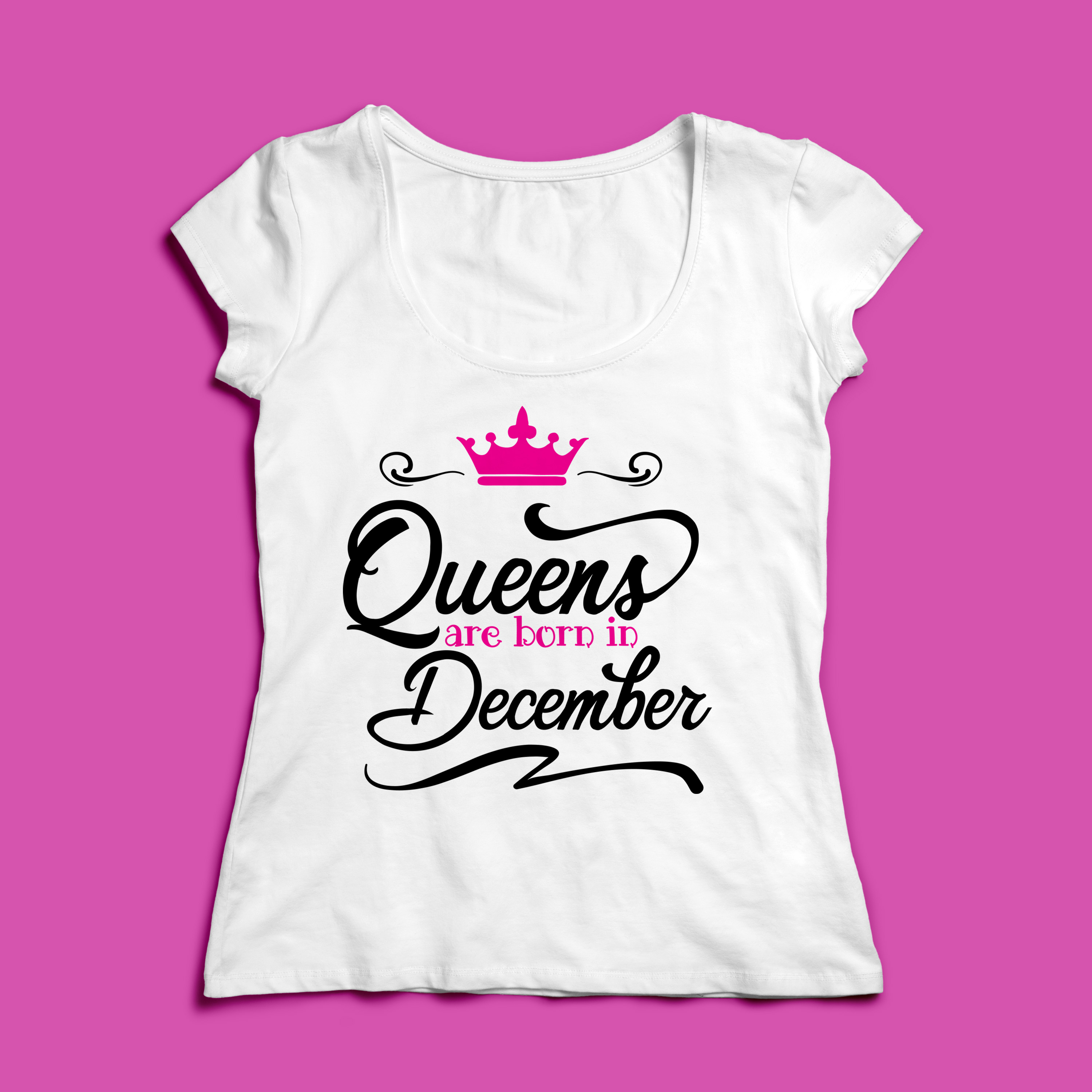 Queens are born in ... Every 12 months Svg,Dxf,Png,Jpg,Eps v example image 4