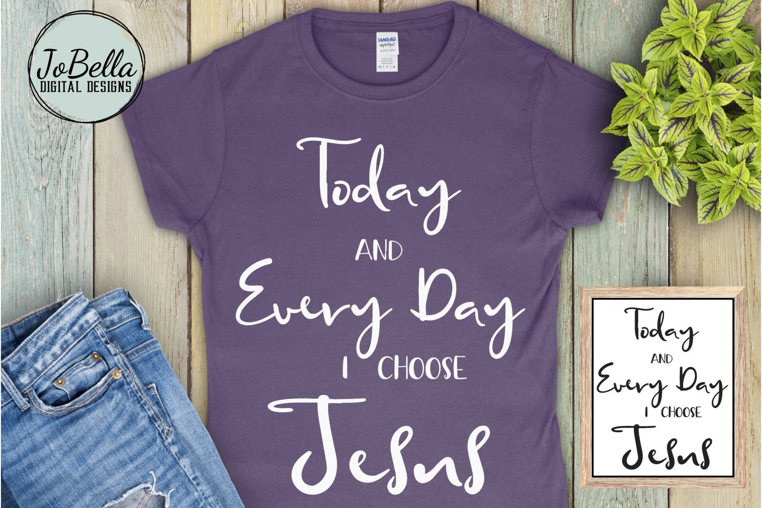 The Jesus SVG Bundle, Sublimation PNGs, and Printables example image 2